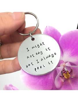 Personalised Keyring With Customised Text, Custom Keychain, Long Distance Gift For Mum, Christmas Gift For Dad, Keyring For Dad by Etsy