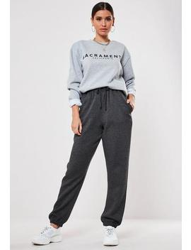 Tall Grey 90s Joggers by Missguided