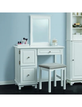 Wakefield 2 Piece Vanity Set In White by Bed Bath And Beyond