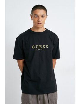 Guess Originals Uo Exclusive La Logo Black T Shirt by Guess Originals