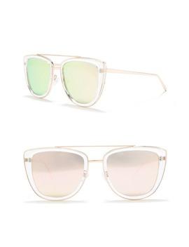 French Kiss 55mm Sunglasses by Quay Australia