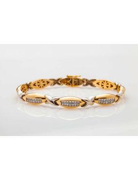 $10,000 2ct Vs Princess Cut Diamond 14k Gold Tennis Bracelet Gia Appraisal 27g by Ebay Seller