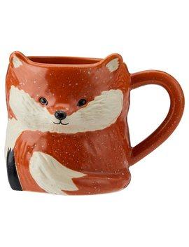 Rustic Fox Figural Mug by Indigo