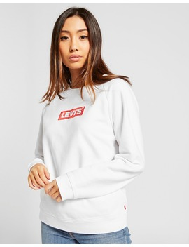 Levis Box Logo Crew Sweatshirt by Jd Sports