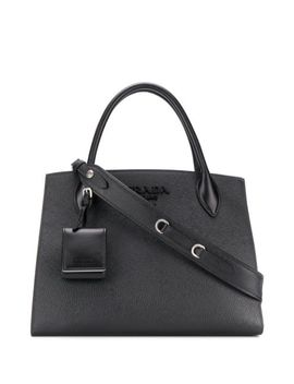 Medium Monochrome Tote by Prada