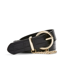 Croc Chain Belt by Topshop