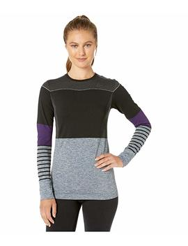 Fuseknit Comfort Blocked Round Neck Long Sleeve by Craft