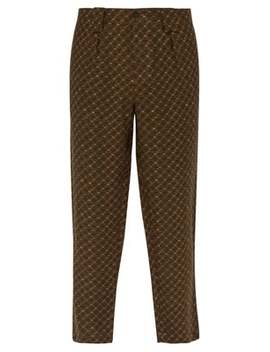 Jacquard Linen Trousers by Etro