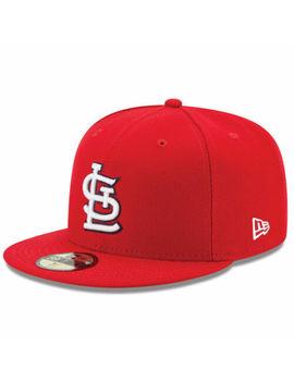 New Era Mlb St. Louis Cardinals Juego Colección Auténtico 59 Fifty Cap Hat Newera by Ebay Seller