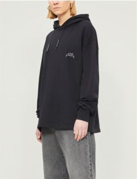 Oversized Cotton Jersey Hoody by A Cold Wall