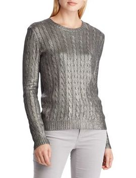 Cable Knit Sweater by Lauren Ralph Lauren