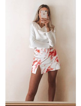 Day Dream Tie Dye Mini Skirt // Pink by Vergegirl