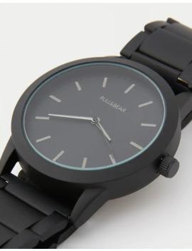 Reloj Negro Mate by Pull & Bear