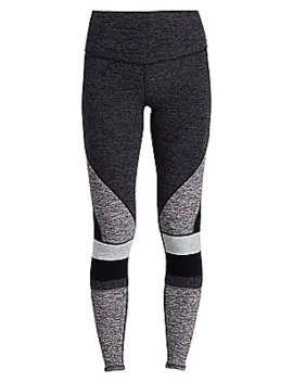 Colorblock High Rise Leggings by Alo Yoga