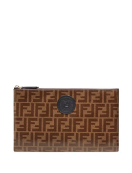 Clutch F Freedom Grande by Fendi