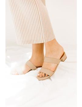Adela Taupe Slides by Luca And Grae