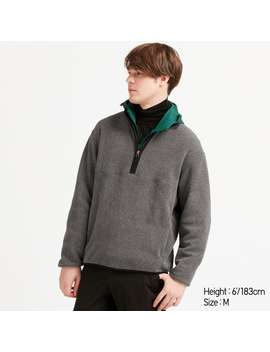 Fleece Half Zip Pullover by Uniqlo