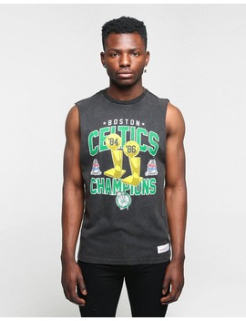 Mitchell & Ness Boston Celtics Vintage Champ Muscle Black by Mitchell And Ness