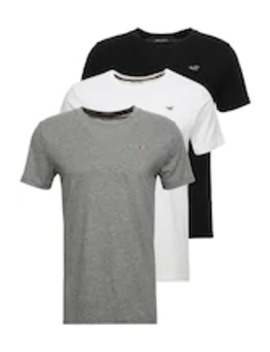 Crew Chain 3 Pack   T Shirt Basic by Hollister Co.
