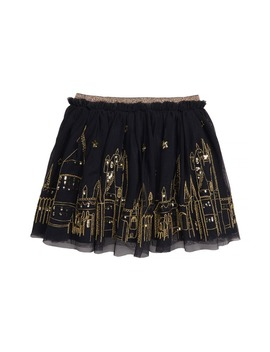 Hogwarts Embroidered Tulle Skirt by Mini Boden