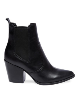 Patricia Leather Booties by Steve Madden