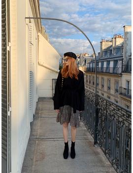 Liancourt Shadow V Neck Knit Top by Chuu