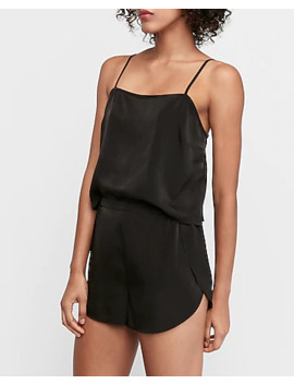 Satin Sleep Shorts by Express