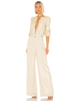 Ismet Jumpsuit In Ivory by Alexis