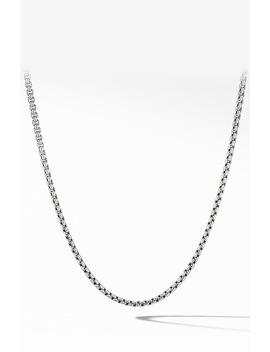 Small Box Chain Necklace by David Yurman