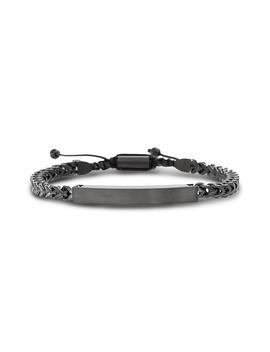 Steel Bar Foxtail Bracelet by Ben Sherman