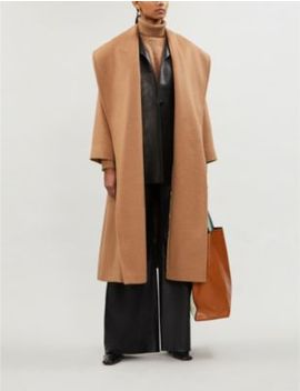 Gufo Relaxed Fit Wool Coat by Max Mara