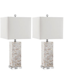 Safavieh Set Of 2 25in Homer Table Lamps by Safavieh