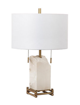 Safavieh Pearl Alabaster 24in Table Lamp by Safavieh