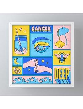 Cancer Framed Mini Art Print by Society6