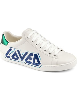 New Ace Loved Sneaker by Gucci