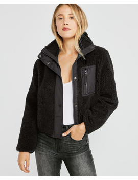 Sherpa Full Zip by Abercrombie & Fitch