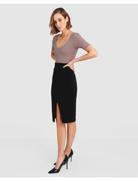 Rayna Split Skirt by Forcast