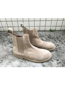 New Style Vintage Men Men's Chelsea Boots Leather Khaki/Grey/Brown/Black Dark Blue Shoes Boot by Ali Express.Com