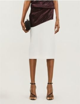 Arreton Wool Skirt by Roland Mouret