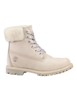 Icon Dyed Shearling Waterproof Leather Boots by Timberland