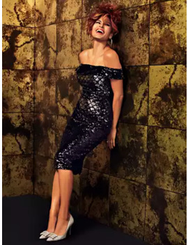 Caitriona Sequin Sheath Dress   Eva Mendes Party Collection by New York & Company