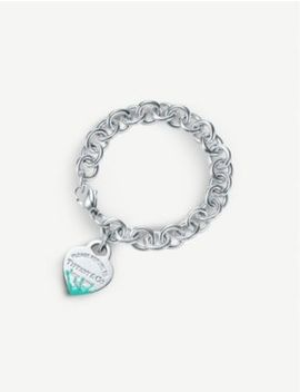 Color Splash Heart Tag Sterling Silver Bracelet by Tiffany & Co