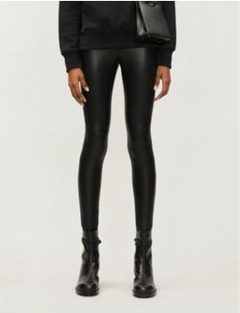 Moto Faux Leather Leggings by Commando