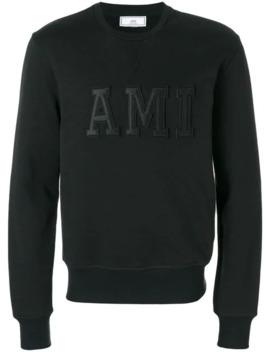 Sweatshirt Patched Ami Letters by Ami Paris