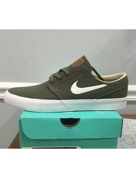 Nike Mens Zoom Air Stefan Janoski Rm Shoes Olive Green White Size 8 Ar7718 201 by Ebay Seller