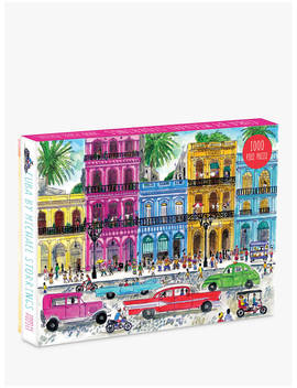 Galison Cuba Jigsaw Puzzle, 1000 Pieces by Galison