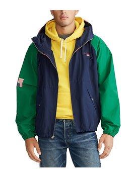 Polo Sport Color Block Windbreaker Jacket by Polo Ralph Lauren