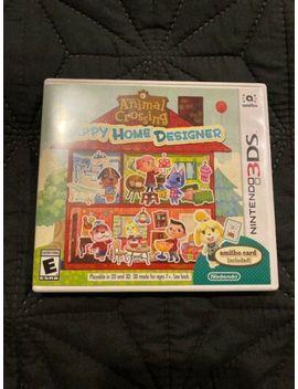 Nintendo Animal Crossing: Happy Home Designer (Nintendo 3 Ds, 2015) by Ebay Seller