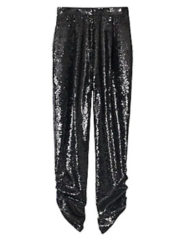 Sequined Lounge Pants by Tibi