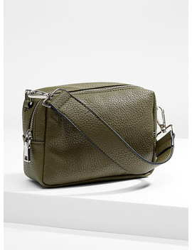 Textured Shoulder Bag by Simons